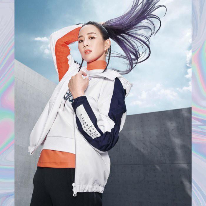 ADIDAS W.N.D. 運動外套 白 藍 橘 張鈞甯 愛迪達 風衣 夾克 廣告款 FI6732