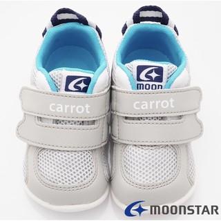 日本Carrot機能童鞋 2E輕量學步鞋款 ON207灰14cm 新北市