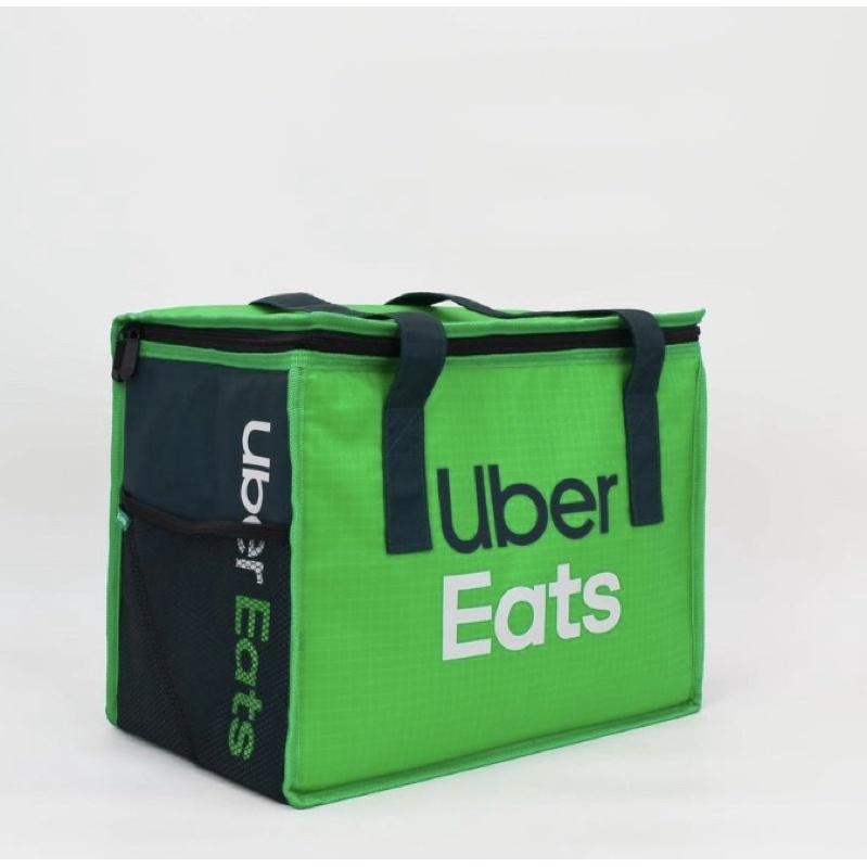 [全新現貨]Ubereats 提袋 uber eats 手提袋 保溫袋 綠色小包 方便 正版 美國官方公司貨