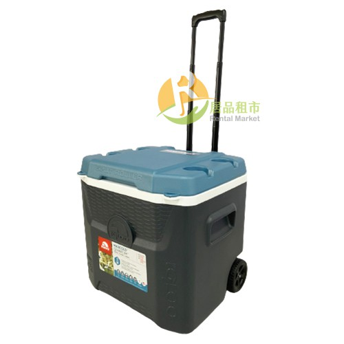 【居品租市】※專業出租平台 - 生活用品※ IGLOO 美國 MAXCOLD 系列五日鮮 52QT 拉桿冰桶 34067