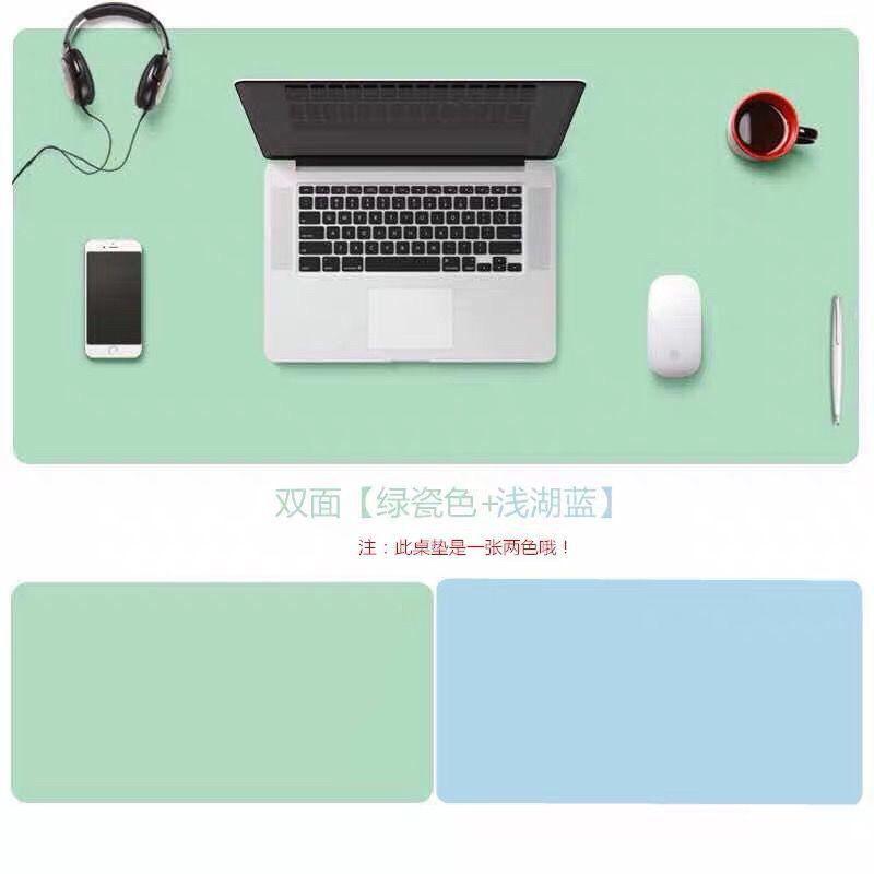 超大號鍵盤鼠標墊PU皮革電腦辦公書桌墊學習寫字墊防水桌布餐桌現貨 超多圖可選 電腦桌墊 遊戲滑鼠墊 动漫鼠標墊 防水桌墊
