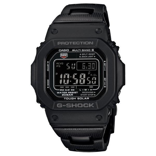 【CASIO】G-SHOCK 經典暢銷錶款5600系列進化 世界六局電波接收GW-M5610BC-1台灣卡西歐 名人鐘錶