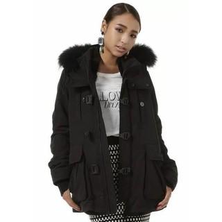 <現貨> 2013 SLY N3B 真毛領黑色短版外套 正日貨 臺中市