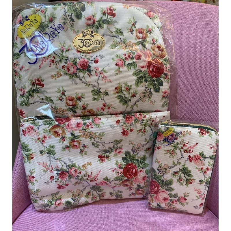 現貨* 泰國代購 naraya 30週年限定 曼谷包 後背包 收納包