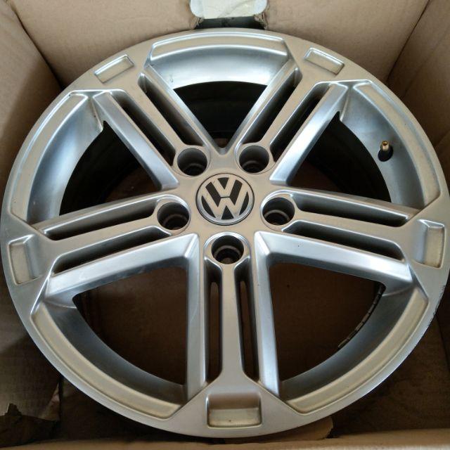 鋁圈16吋 5孔112 經典R鋁圈 福斯 奧迪  vw福斯輪蓋 真圓無變形 原廠換下購新車時選購的 9成新 可議 需面交