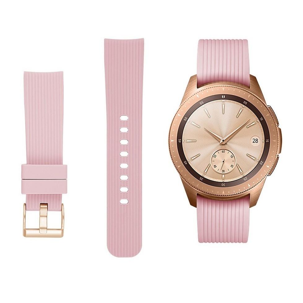 【直紋腕帶】三星 Galaxy Watch 42mm/Watch3 41mm 智慧手錶替換帶 運動手環 錶帶錶環20mm