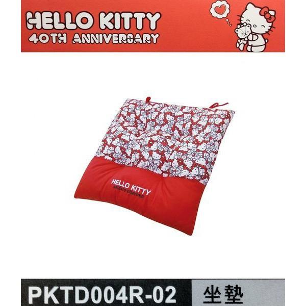車之嚴選 cars_go 汽車用品【PKTD004R-02】Hello Kitty 40TH 週年系列 座椅墊 坐墊