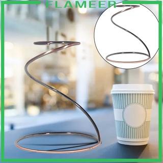 [FLAMEER] 家用廚房廚房ACC的鐵咖啡過濾器架儲備杯咖啡杯架