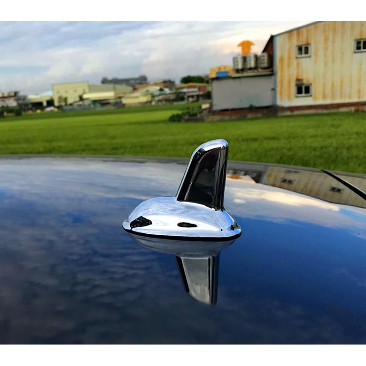 圓夢工廠 賓士 Benz C W203 W204 改裝 車頂 鯊魚鰭天線蓋飾貼 烤漆黑 烤漆銀 烤漆白 鍍鉻銀 碳纖紋