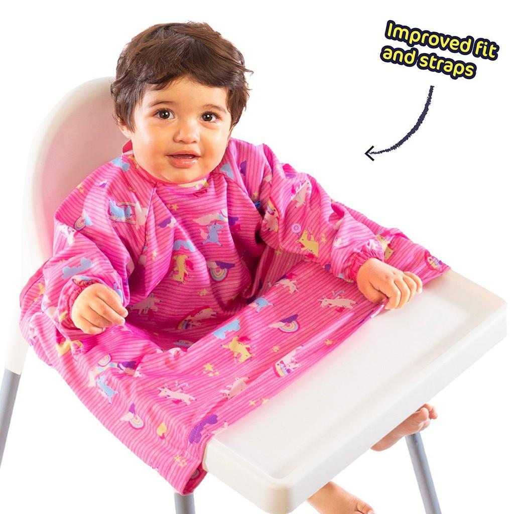全新現貨 【BIBaDO】英國 Bibado 防水圍兜/吃飯衣吃飯圍兜,BLW 寶寶吃飯好物