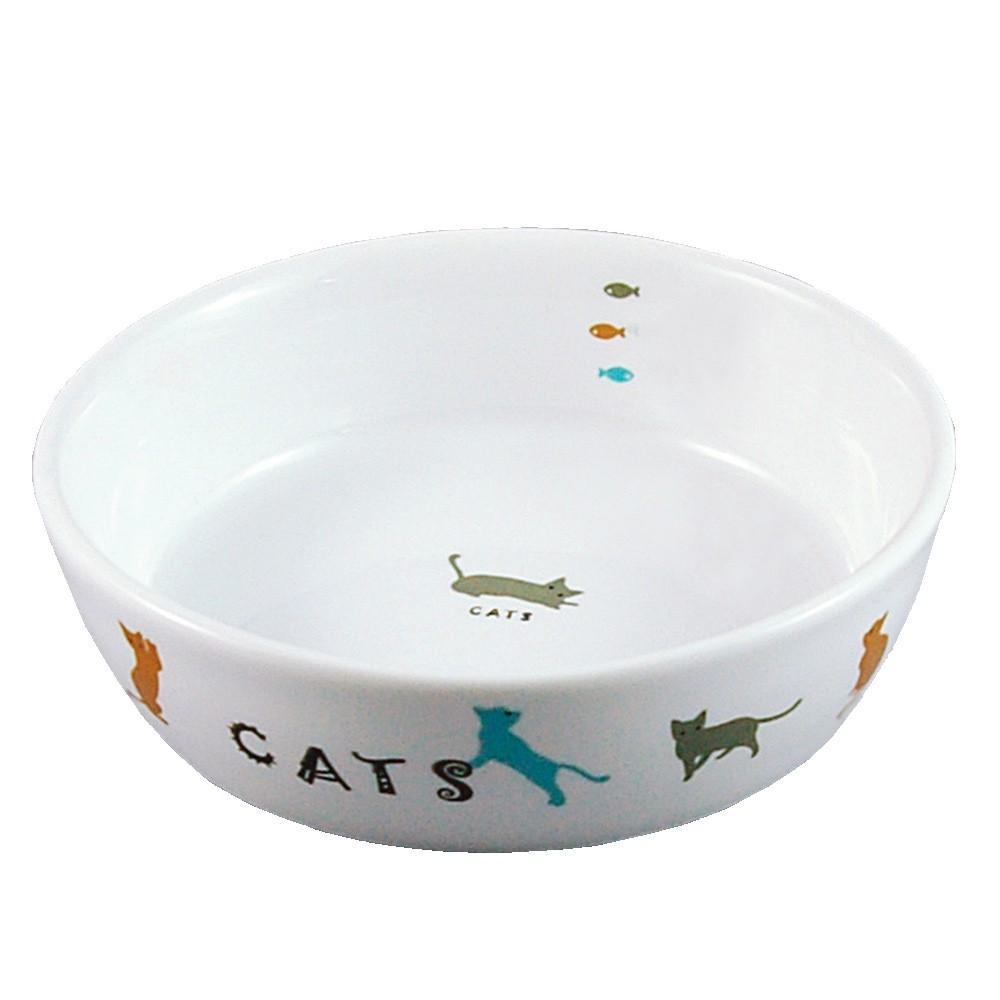 MARUKAN 犬貓貂兔鼠 彩繪陶瓷食盆 小動物碗碟 寵物食皿 飲水器 給水盆 CT-204(φ12公分)每件259元