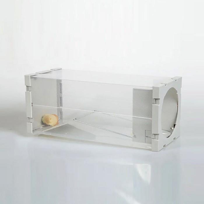 不髒手人道捕鼠瓶 (SK57 )不挑色 威力捕超靈敏捕鼠器老鼠籠連續鼠瓶夾抓滅撲老鼠易偽裝型 居家必備KIM