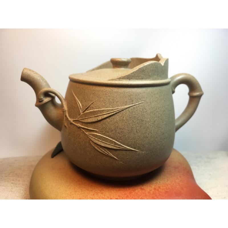 紫砂壺原礦黃金段泥壺