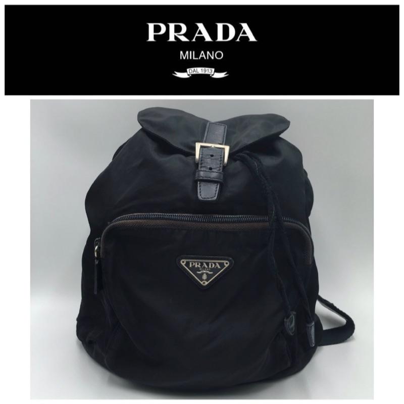 二手真品  Prada  後背包  K211