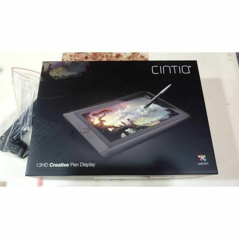 二手Wacom Cintiq 13HD 觸控繪圖螢幕