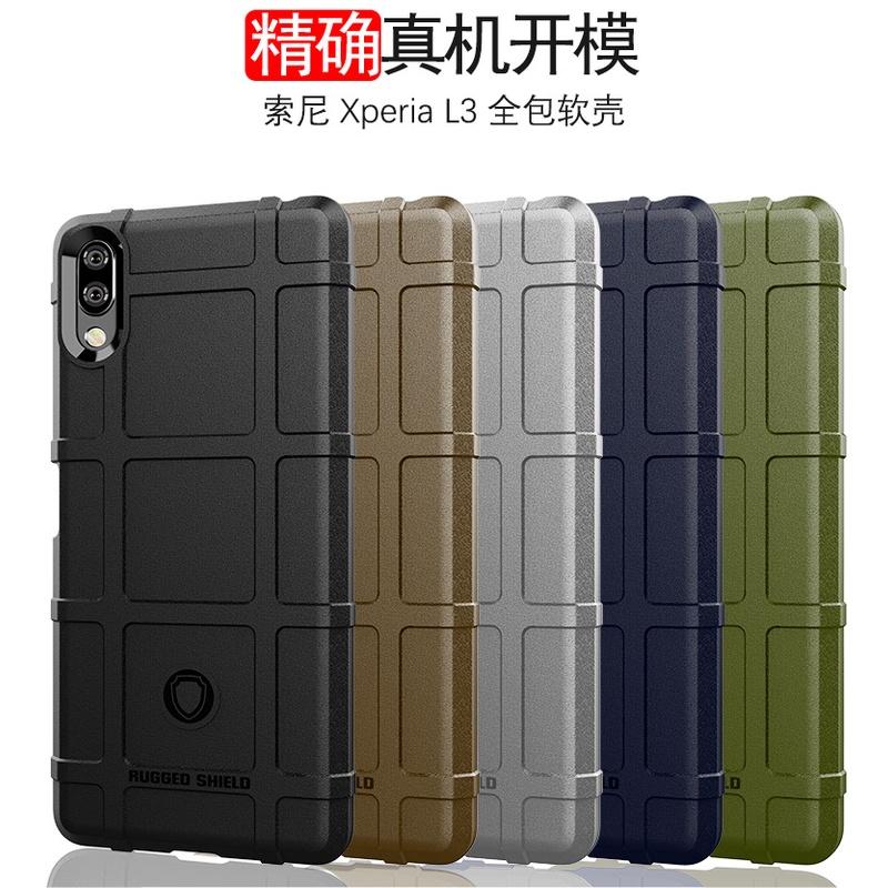 軍用軟殼 Sony Xperia 1 5 10 II Plus / 1 10 III / L3 鏡頭保護殼套 防摔手機殼