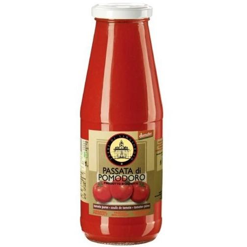 智慧誠選 義大利有機原味蕃茄濃汁 700g/瓶(即期品) 效期至2021.08.13