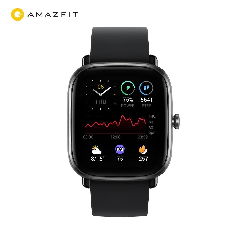 【Amazfit華米】GTS 2 mini 超輕薄健康運動智慧手錶(GPS定位/14天強力續航/台灣繁體版/原廠公司貨)