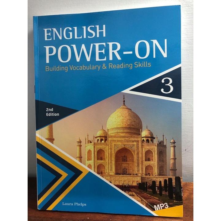 二手書 English power-on 3(2nd edition)(附CD) 9789863187233