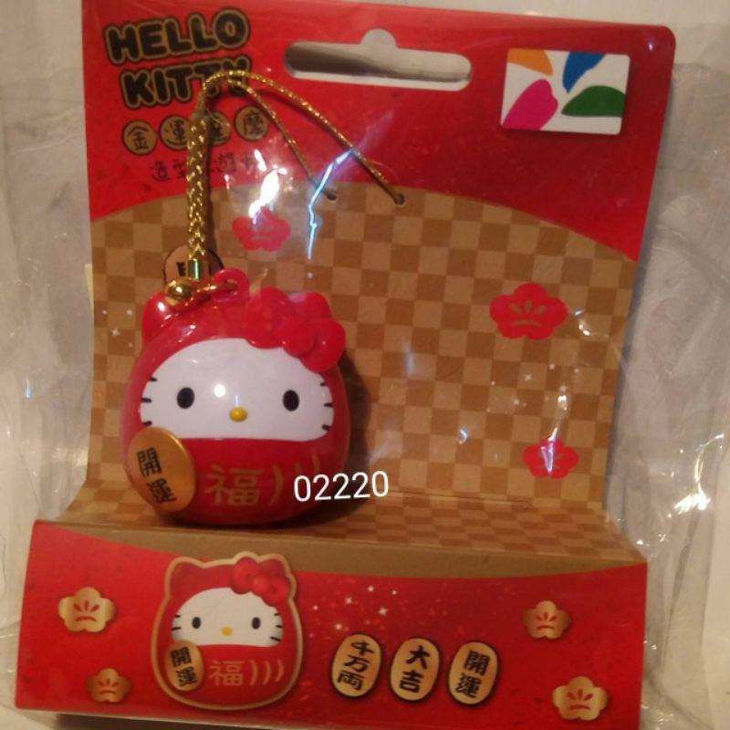 Kitty金運達摩3D悠遊卡,金運達摩悠遊卡,限量悠遊卡,3D悠遊卡,悠遊卡~kitty金運達摩悠遊卡(單一價,已絕版)