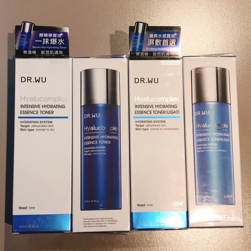 DR.WU 玻尿酸保濕精華化妝水 150ml 達爾膚