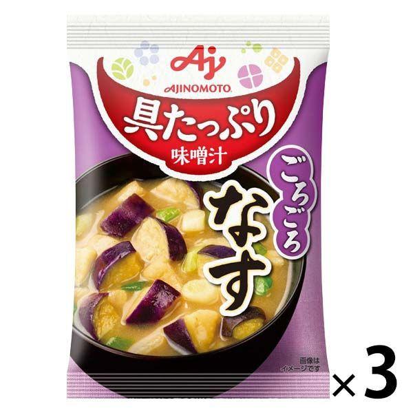 Ajinomoto 味之素 味噌湯包 茄子風味 E333136