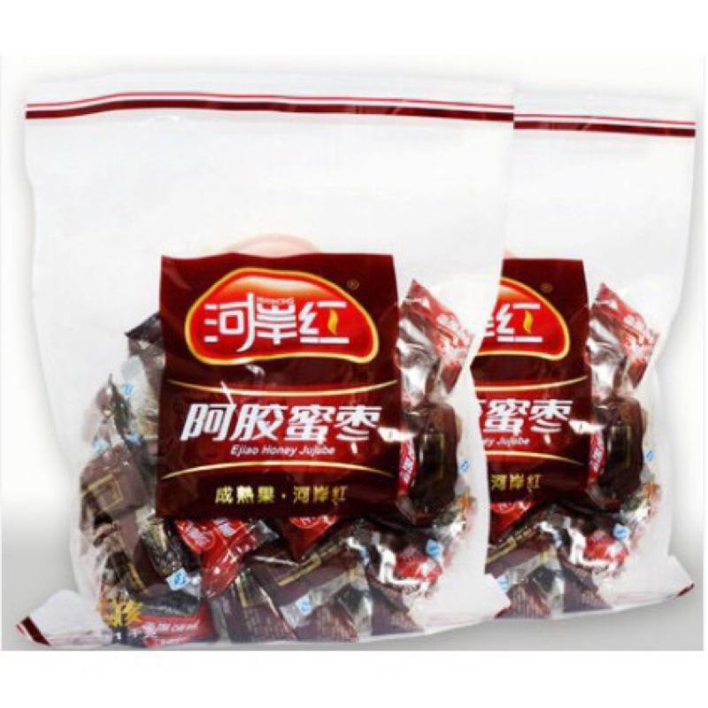 [新鮮現貨] 爆單 促銷 健源食品 河岸紅阿膠蜜棗 原味 黑糖 阿膠蜜棗 大包裝1000g