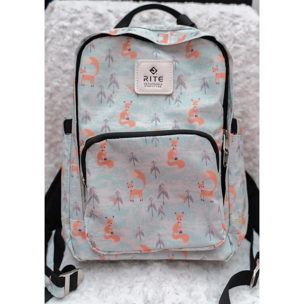 [二手]RITE W01散心包 無憂狐 背包 後背包 斜背包 肩背包 減壓背帶