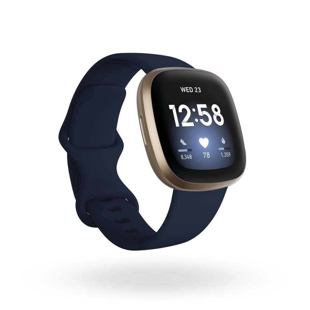 Fitbit Versa 3 一卡通運動智慧手錶 海軍藍