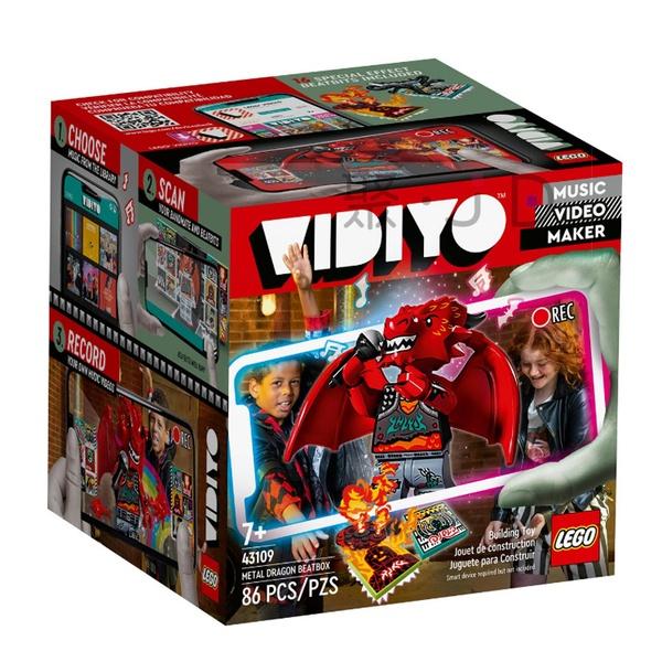 聚聚玩具【正版】43109 LEGO 樂高積木 VIDIYO 系列 - 重金屬飛龍 Metal Dragon BeatB