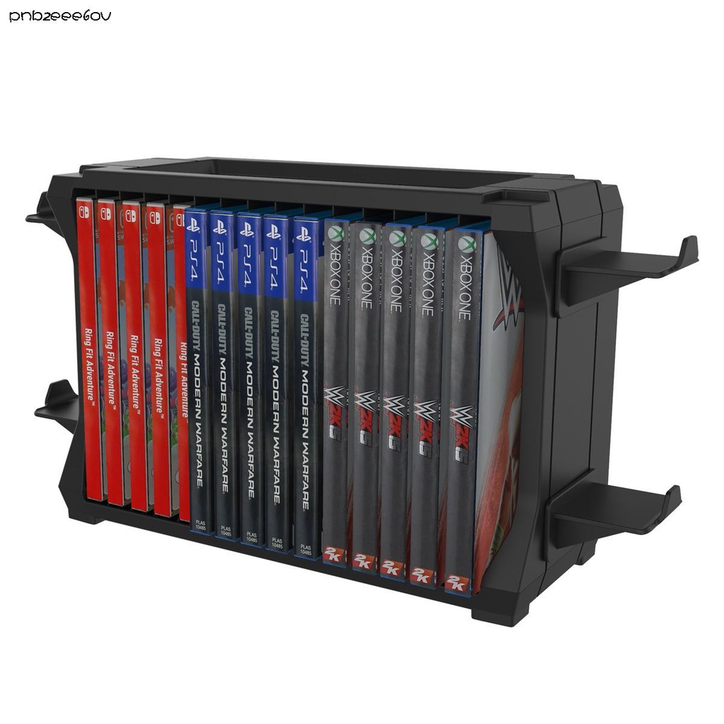 電玩PS5/Switch/Xbox Series S/X多功能主機碟片收納盒遊戲手柄收納架