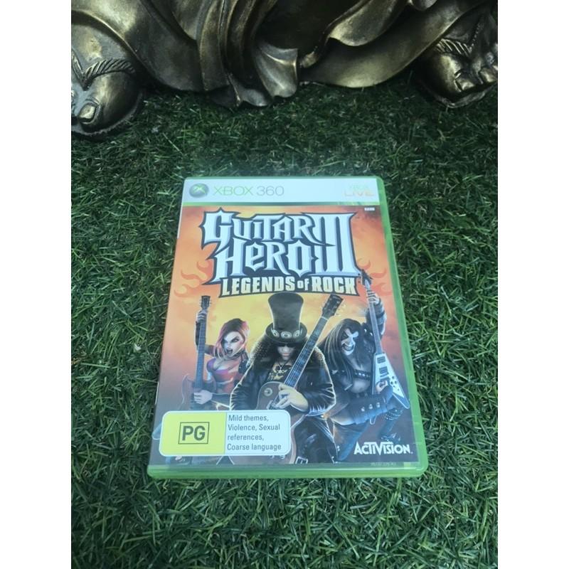 Xbox360二手遊戲 吉他英雄3 Giitar Hero 3 Legends of Rock