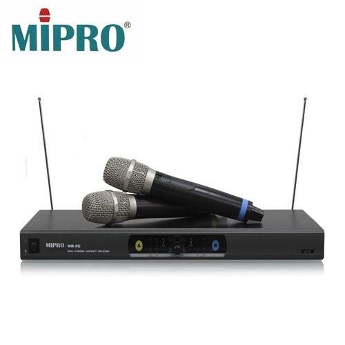 【MIPRO】 VHF 雙頻道自動選訊無線麥克風(MR-5C)
