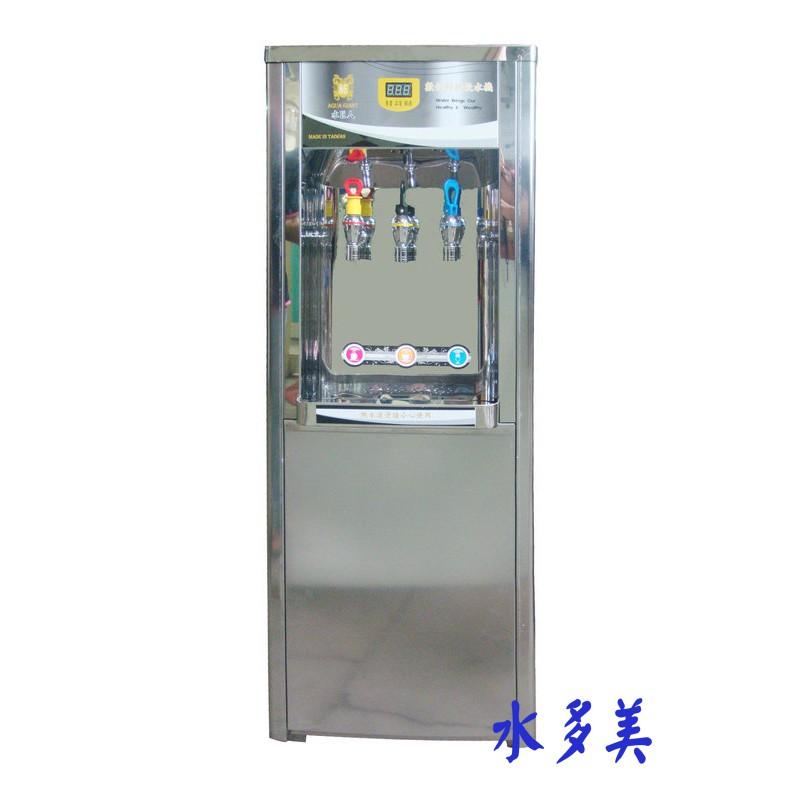 力巨峯/水巨人GF-3013 立式液晶冰溫熱3溫RO逆滲透飲水機14000元
