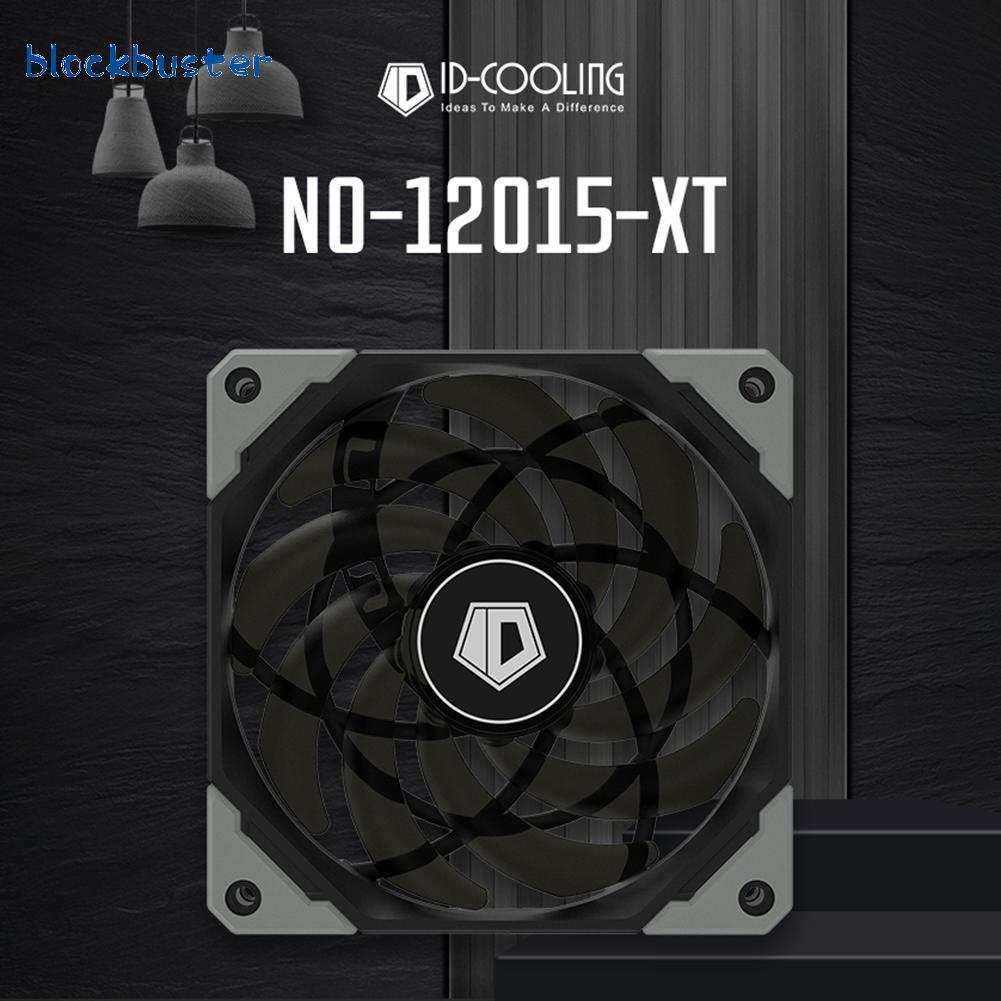 [Hot / Ready] Id 冷卻 12015xt 120mm Pwm Pc 機箱風扇超薄靜音 Cpu 水冷風扇