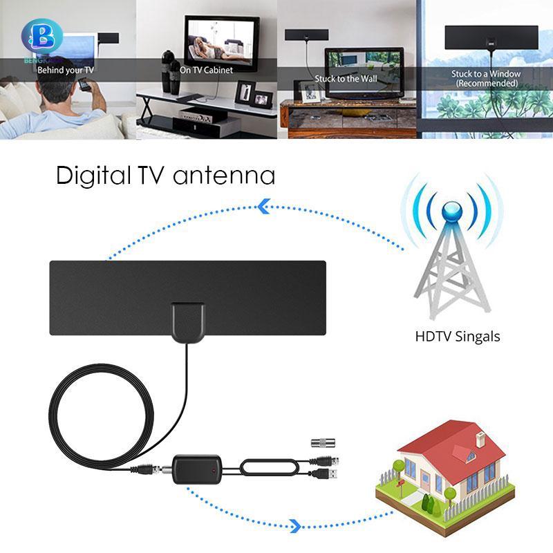 BKK 35英里範圍數字4K電視HDTV天線4K