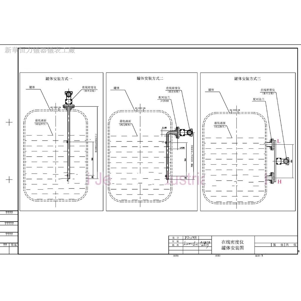 ✈特價優惠酒精液體在線密度計/礦漿泥漿比重計/脫硫漿液密度測試濃度檢測儀