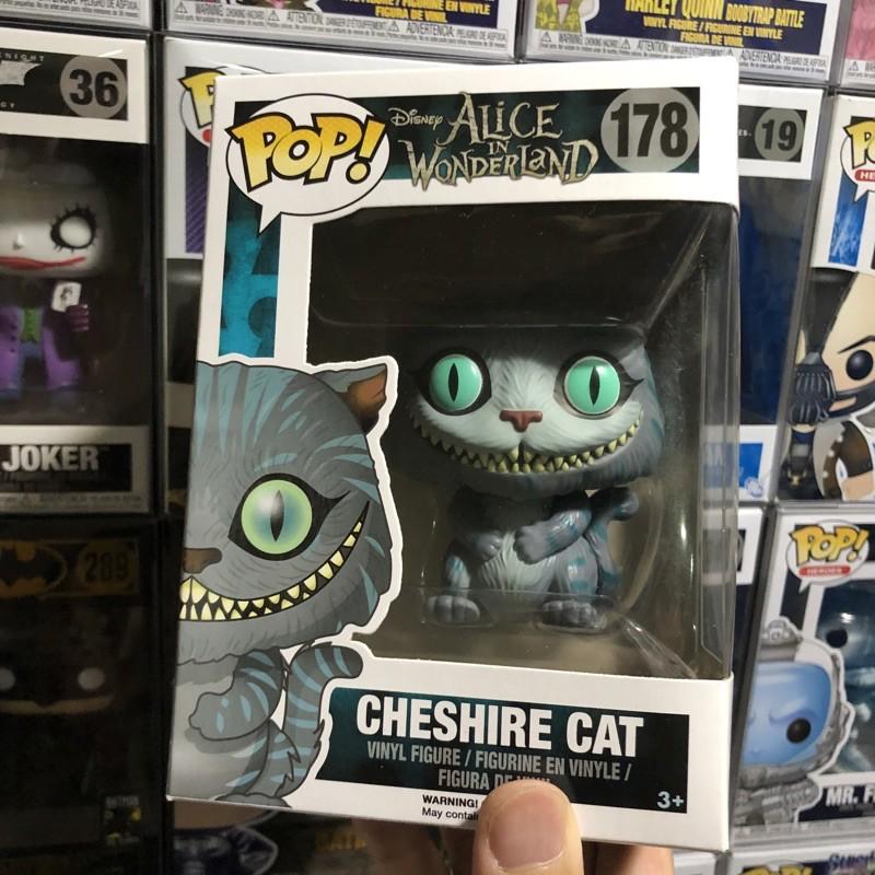 [李大] 正版現貨 Funko POP 迪士尼 柴郡貓 妙妙貓 魔鏡夢遊 Cheshire Cat #178
