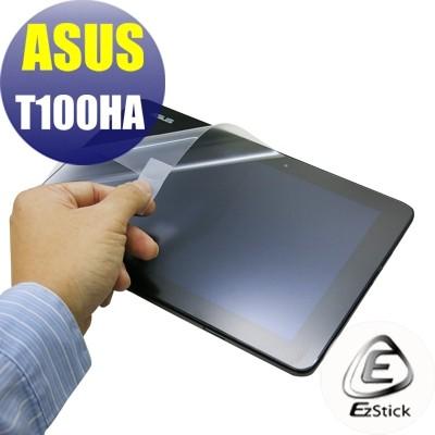 【Ezstick】ASUS T100 T100HA 專用 靜電式平板LCD液晶螢幕貼 (可選鏡面或霧面)