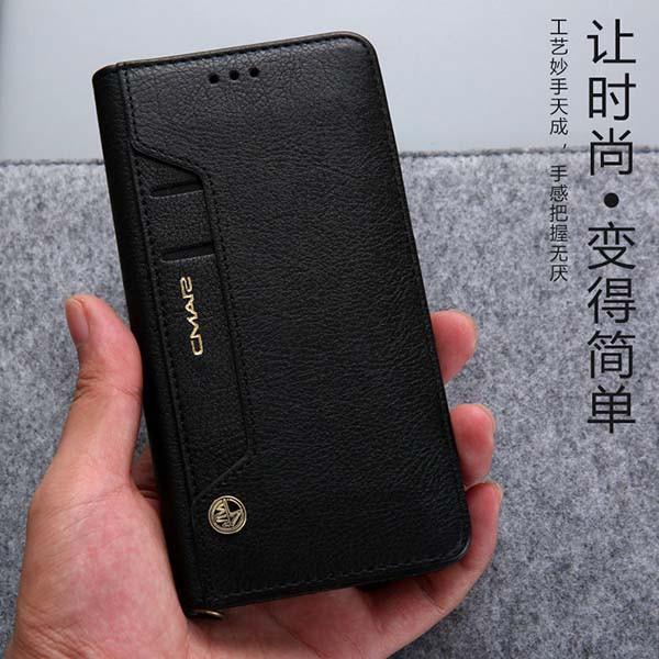 三星 Note10+ Pro Note 10 手機殼 商務 翻蓋 真皮套 可放卡片 插卡 支架 保護套 全包 軟殼 皮套