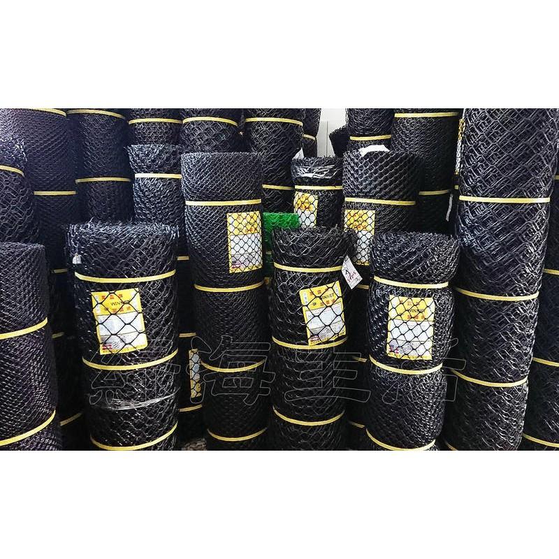 【綠海生活】塑鋼網 A級 B級 寬度:3~6尺 長:100尺 萬年網 黑網 塑膠網 萬用網 圍籬網 籬笆網(每筆限寄1支