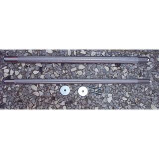 電鍍磨指棍(2尺半, 直徑1.5公分)/ 耐用耐咬/ 適用所有鳥類/ 多種尺寸/ 九官籠, 尺半, 2尺, 2尺半鳥籠用站棍