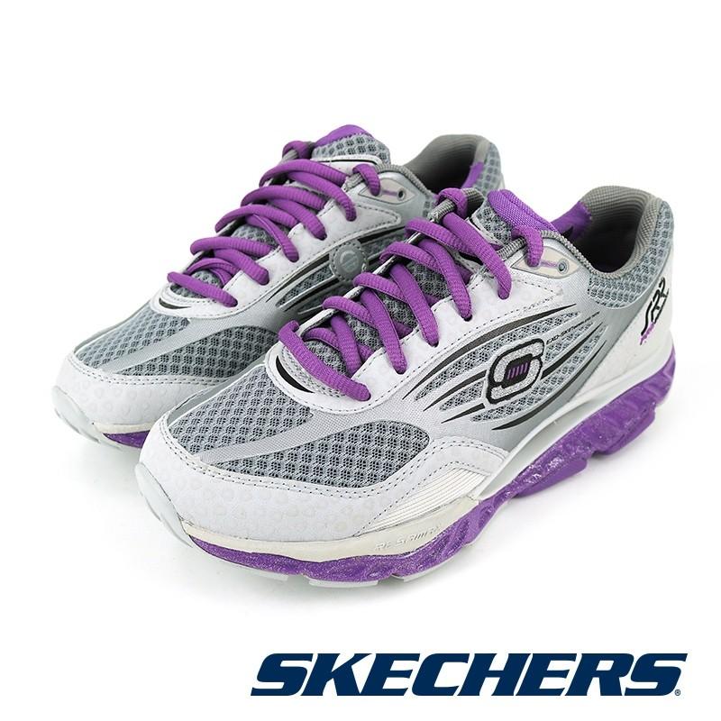 【SKECHERS】慢跑系列 SRR PRO RESISTAN - 99999742GYPR-灰紫 女-原價4890元