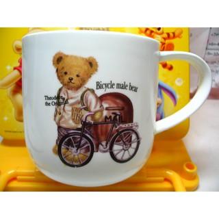 熊 小熊 鐵馬熊 Bear 腳踏車 可愛 馬克杯 陶瓷 茶杯 茶具 保溫杯 陶瓷馬克杯 陶瓷茶杯 陶瓷茶具 陶瓷保溫杯 彰化縣