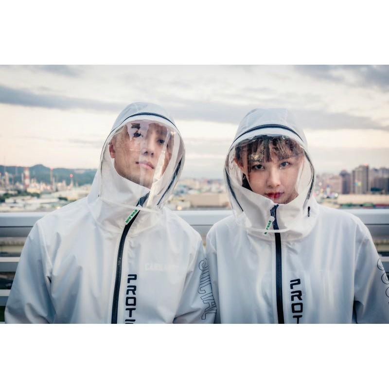 Eva 長榮機能防護夾克 只有小孩防護外套 上飛機很需要 透明防護罩