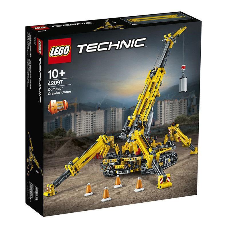 『熱賣』【LEGO正品】樂高積木42097精巧型履帶起重機吊機科技系列機械組