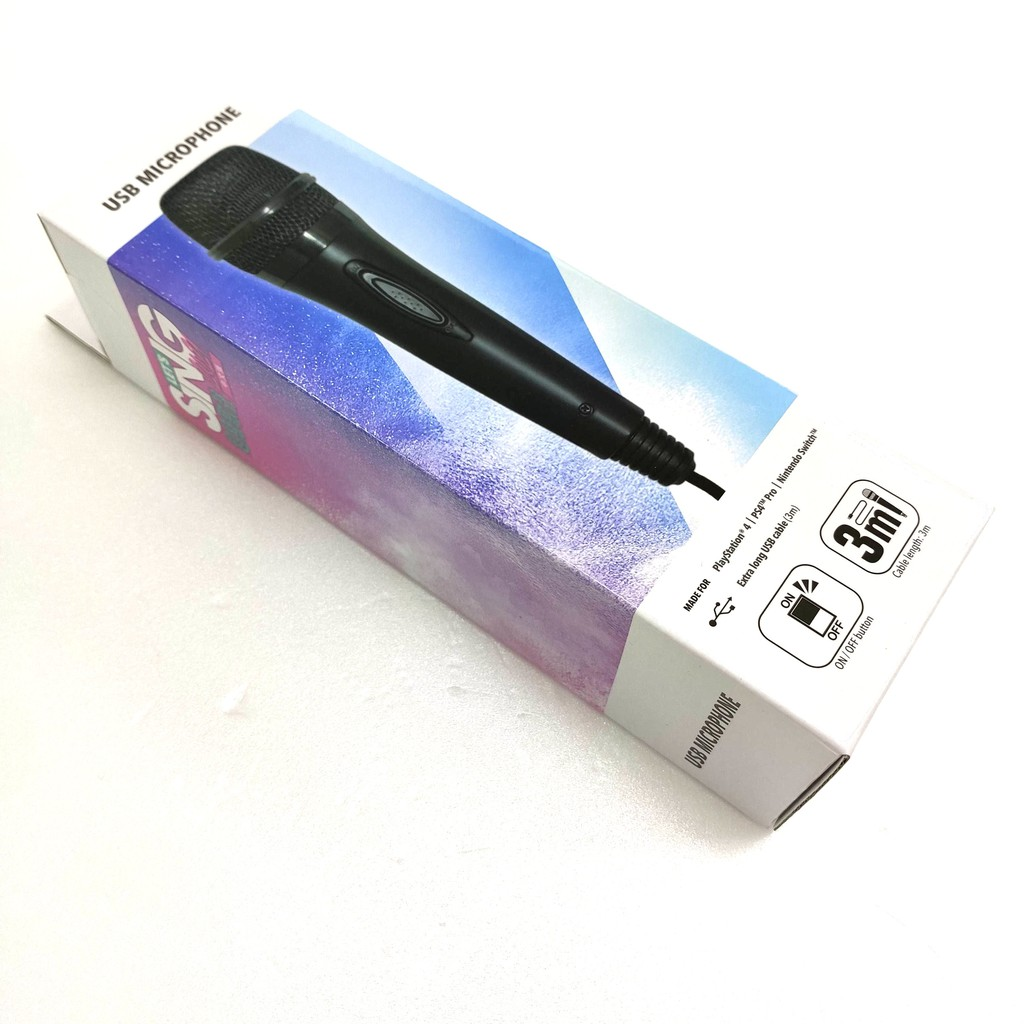 任天堂 Switch NS / PS4 PRO 兩用 超級歌聲 USB 麥克風