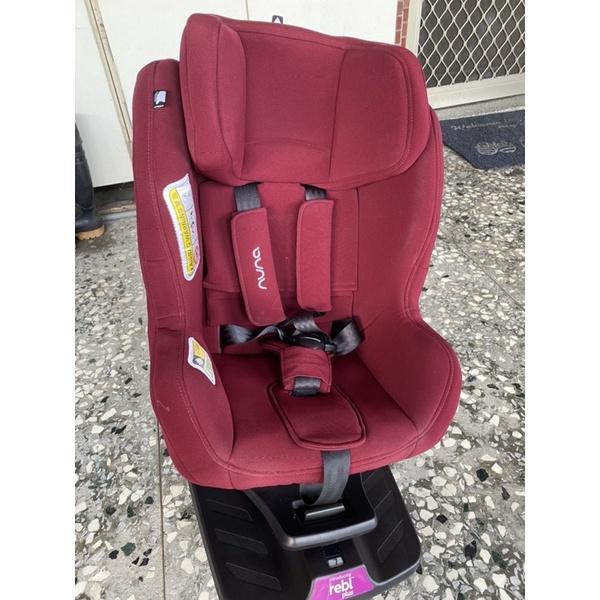 降價 降價 二手 Nuna Rebl plus 360度0-4y兒童安全座椅-莓紅-需要有ISOFIX