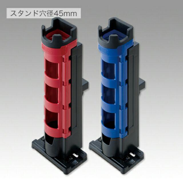 《軟絲墨魚》日本明邦MEIHO.BM-280置竿架,路亞鐵板竿竿架,工具箱釣竿架,