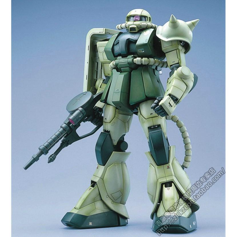 萬代BANDAI PG 1/60 MS-06F Zaku II 綠扎古量產型